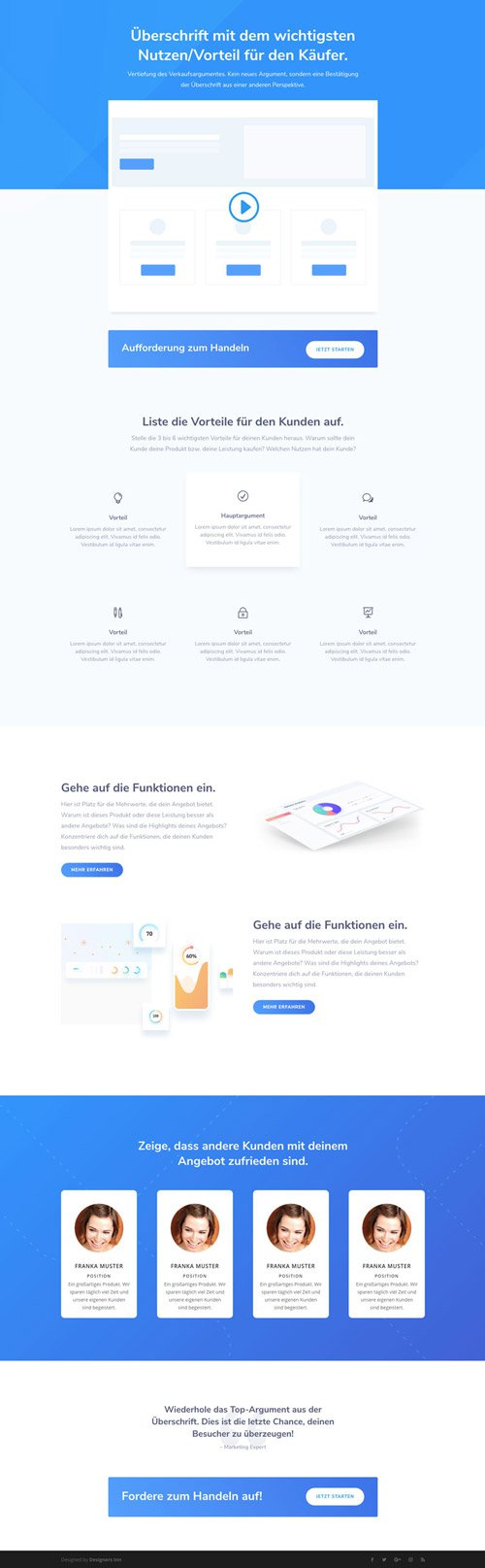 Divi Funnel WordPress Theme