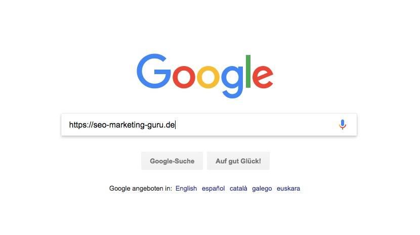 SEO Maßnahmen: google indexierung prüfen