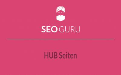 Guru Tipp: Linkjuice über eigene Hub-Seiten nutzen.