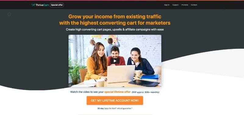 Thrivecart: Eine Alternative zum WordPress Shop