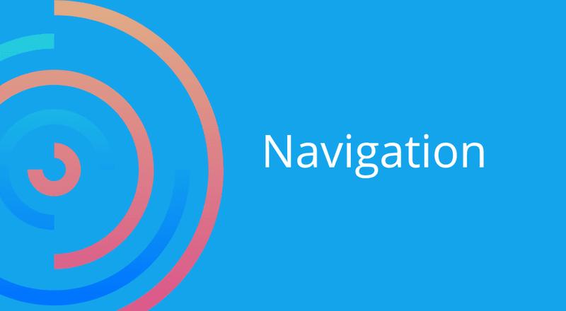 webdesign fehler navigation
